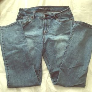 Old navy mid rise curvy jeans